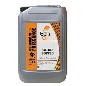 Huile de Transmission Bulls Oil Gear 80W90