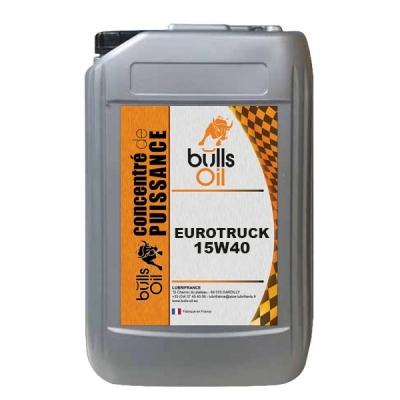 Huile moteur Bulls Oil Eurotruck 15W40