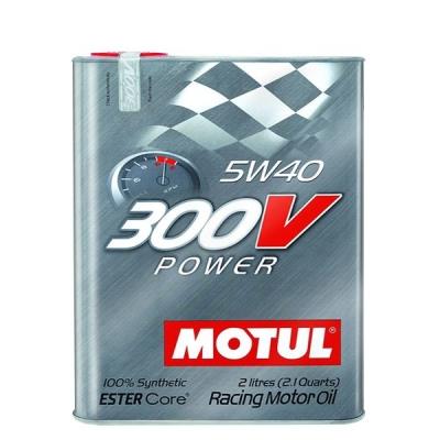 Huile moteur Motul 300V Power 5W40