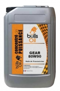 Huile de Transmission Bulls Oil Gear 80W90